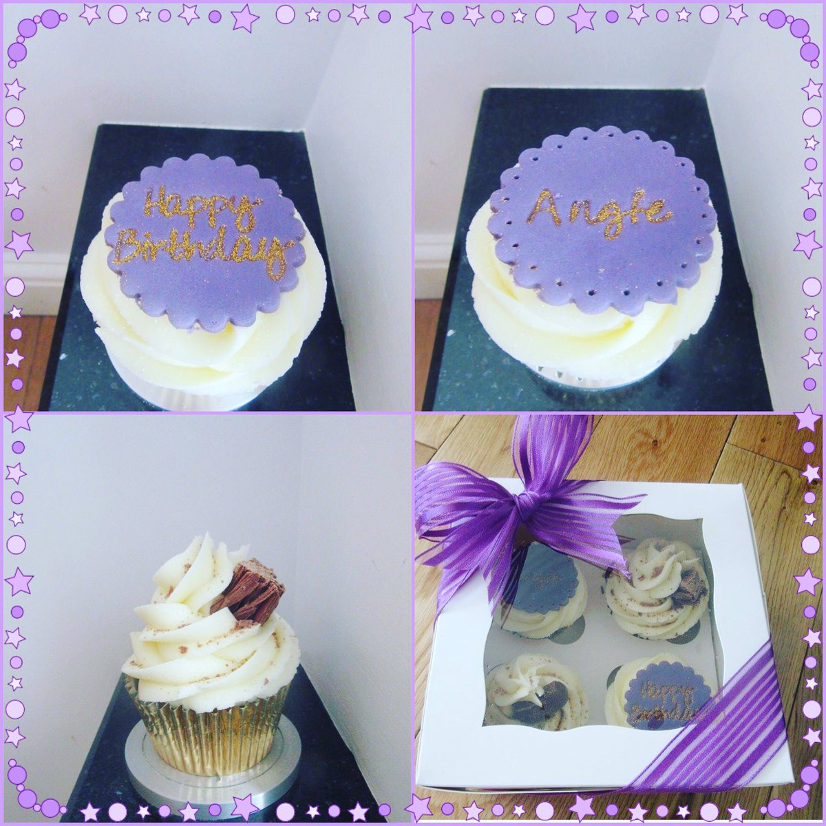 Lully Cupcakes On Twitter Happy Birthday Angie Box 4