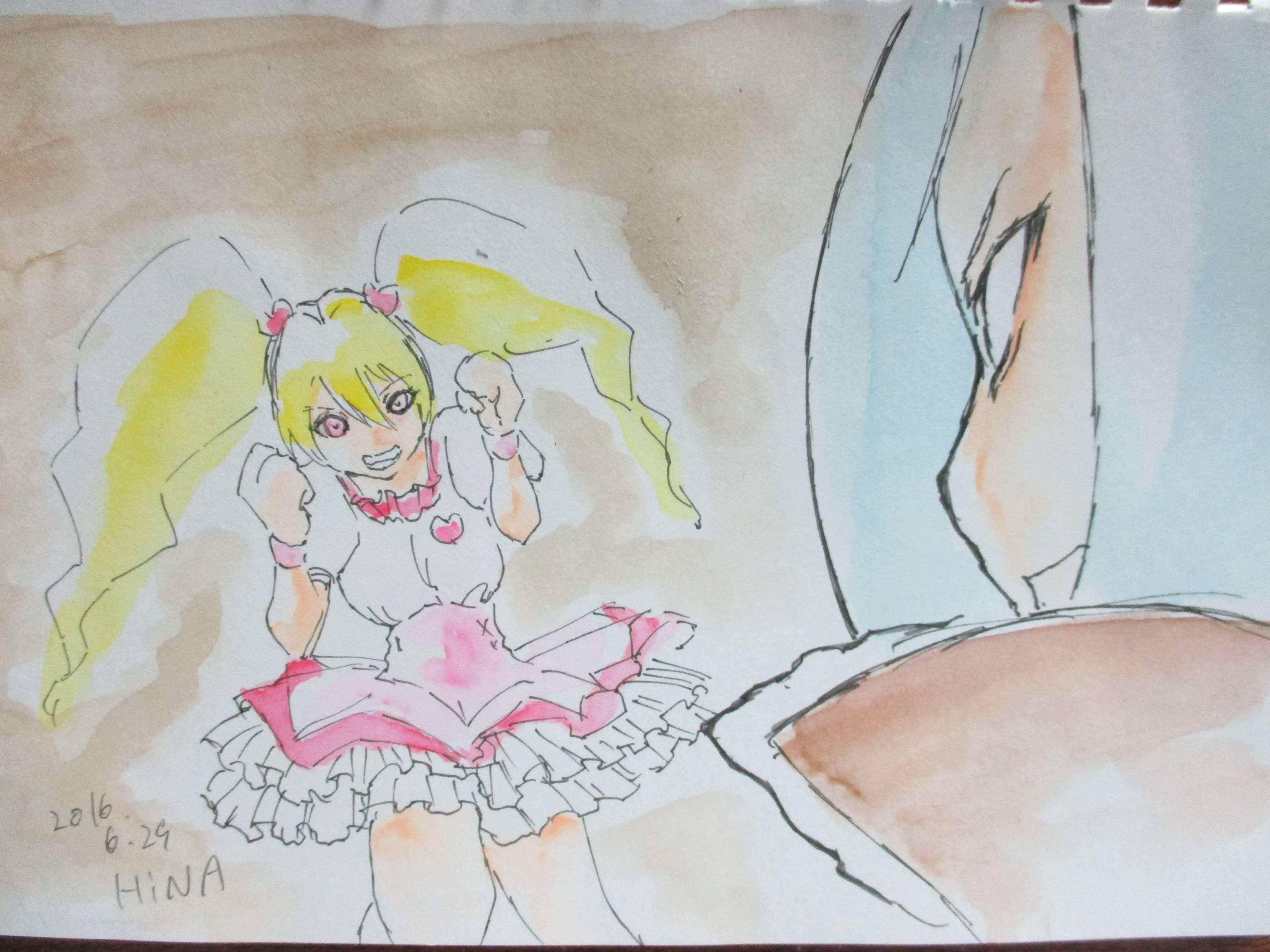 ひなひな (@hinata_hinako)さんのイラスト