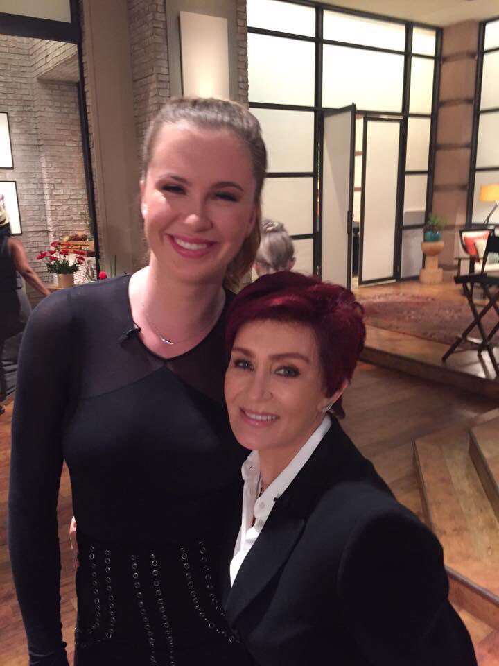 My friend Ireland Baldwin. She's smart, beautiful and talented, a lethal combination. Come back to @TheTalkCBS soon.