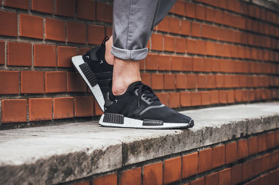 Adidas Nmd R1 Prime Knit Core Black Core Red White His trainers