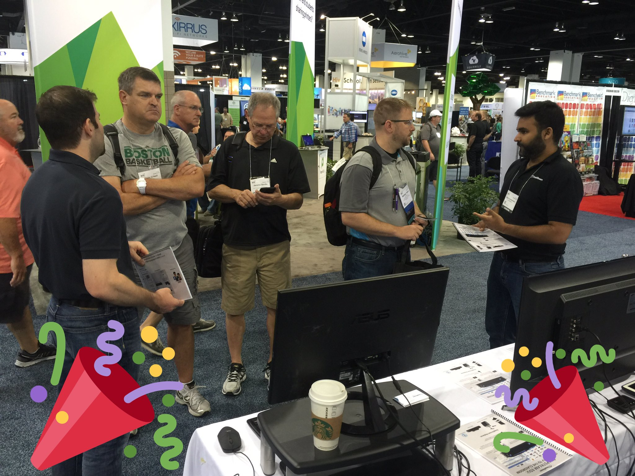 Come see what all the fuss is about at the SnapStream booth, 3634. #ISTE2016  #ISTE https://t.co/Acgm3nqkc3