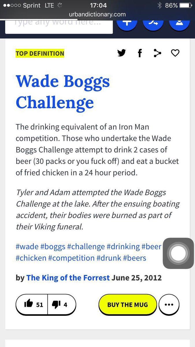 wade boggs beer challenge