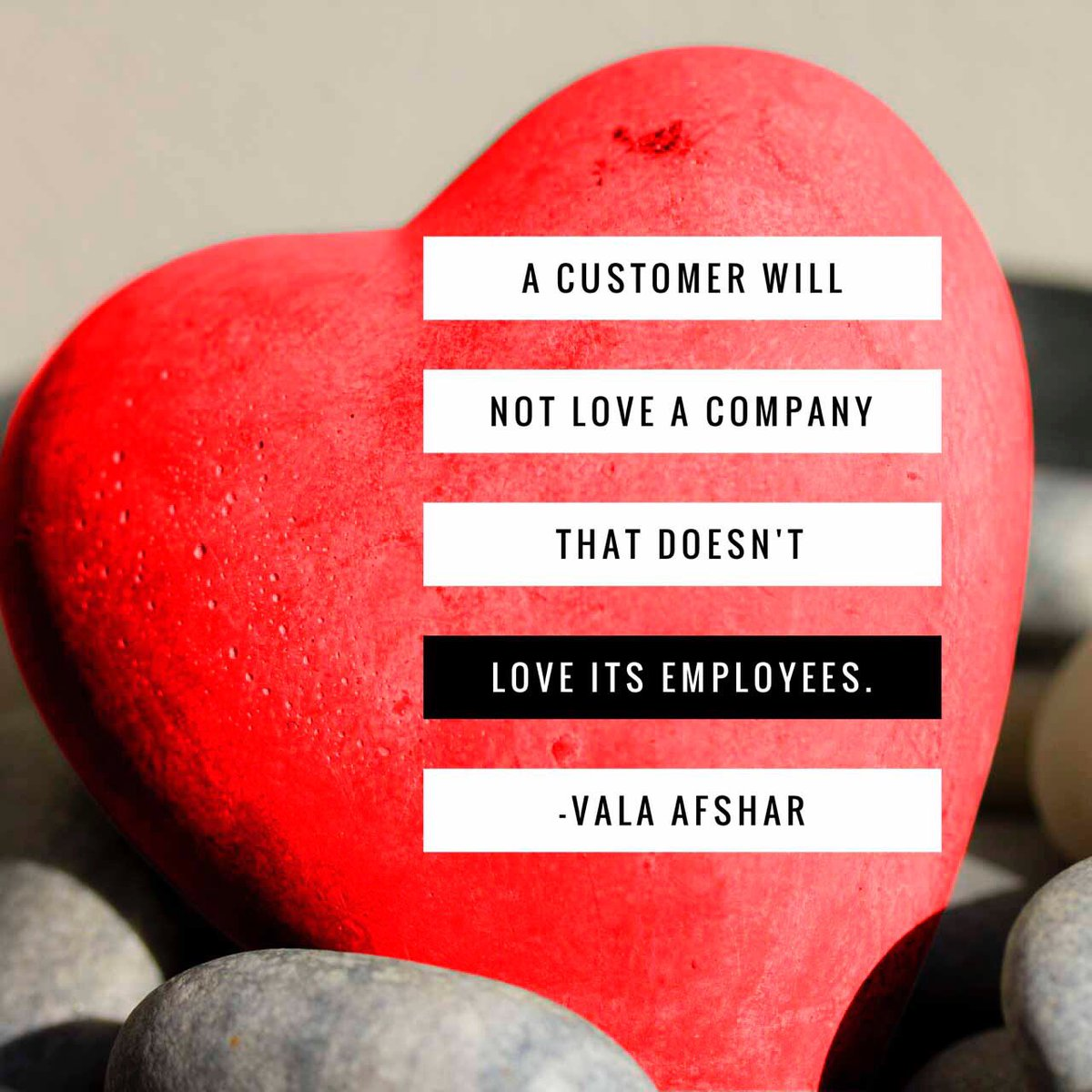 My fave quote about the core of #employerbranding via @ValaAfshar: #DBIchat https://t.co/s78bBHxdUt
