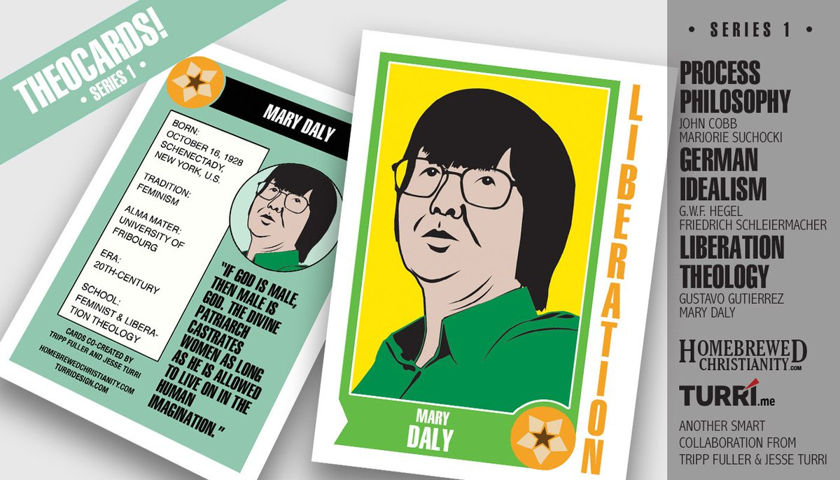 Get your #MaryDaly @HomebrewedXnty  trading card at @WildGooseFest  #IfGodIsMaleThenMaleIsGod<br>http://pic.twitter.com/g6kTDOuad2