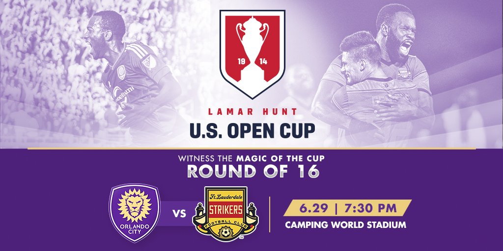 Retweet for a chance to win 2 free tix for tonight's home @OrlandoCitySC Open Cup match! #LionNation #OCSC #ORLvsFTL https://t.co/y48kG13LZL