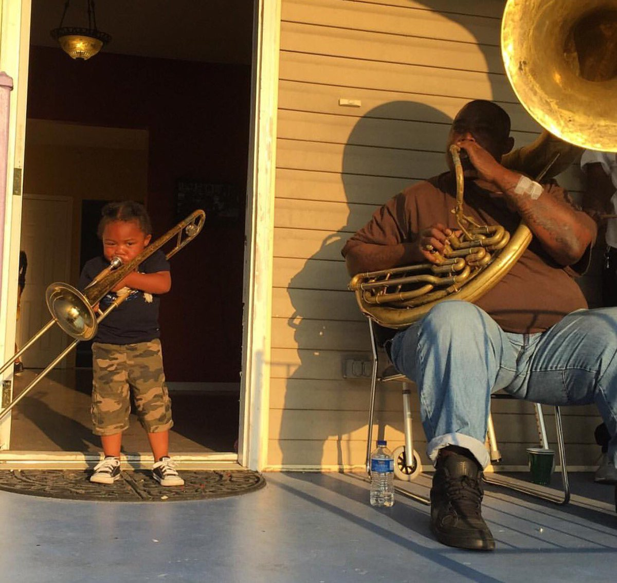 In New Orleans, lessons are not always taught in the classroom. Photo: @shabonkadonk https://t.co/5Prjl786rK