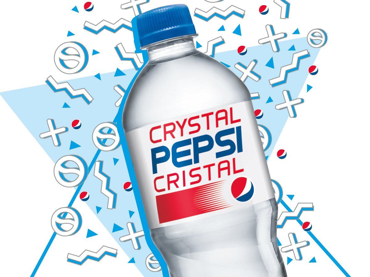failed product crystal pepsi Free essay: failed product report '' crystal pepsi prepared by yeo & ong march 5, 2009 there was a marketing fad in early 1990s equating clarity with.