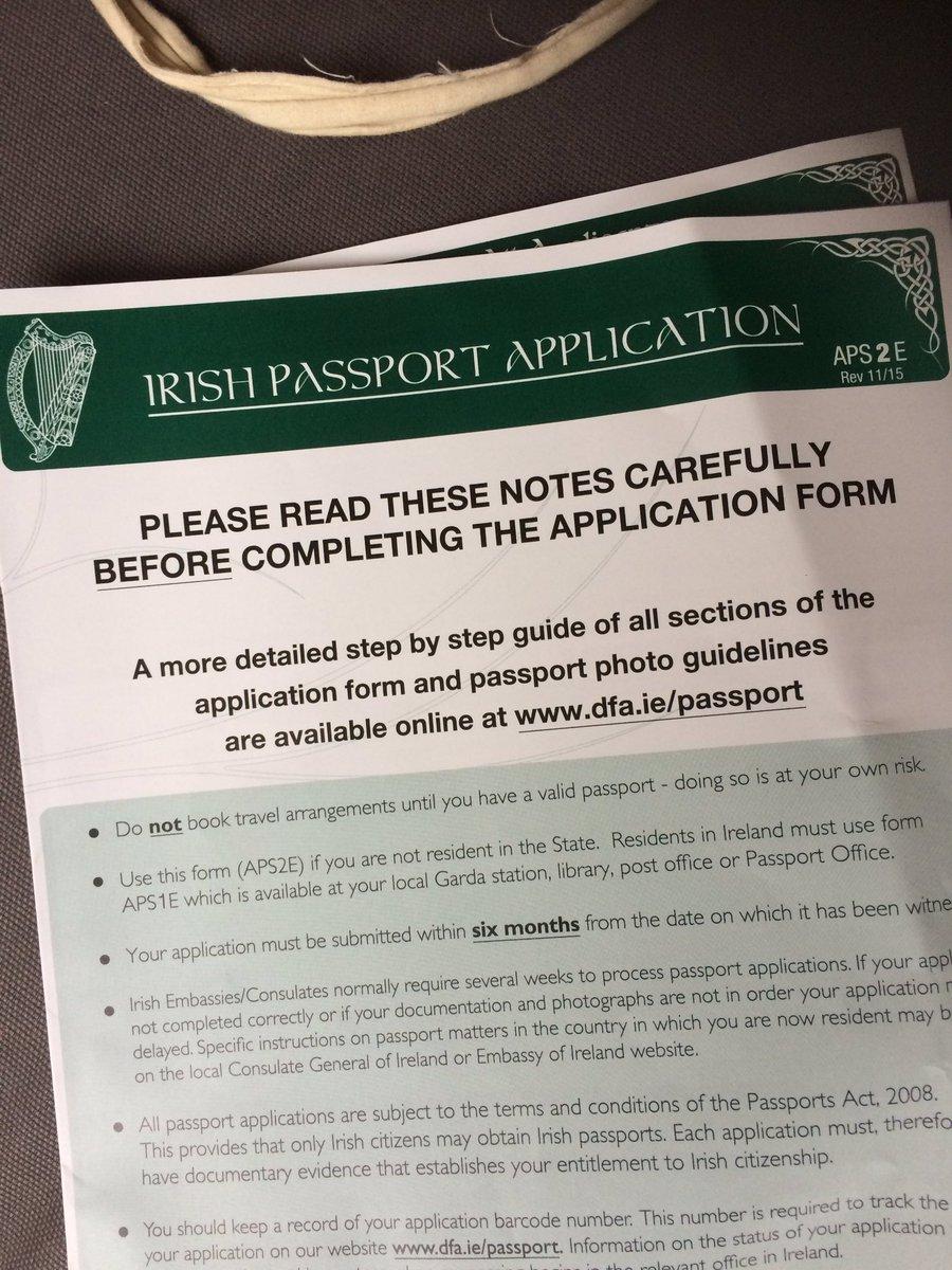 Kathryn mccann on twitter irish passport form arrivedlets get kathryn mccann on twitter irish passport form arrivedlets get me back to being a eu citizen brexit iameuropean ivotedremain falaconquin