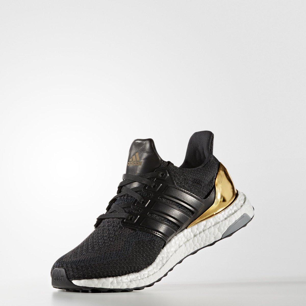Adidas Ultra Boost Gold Heel