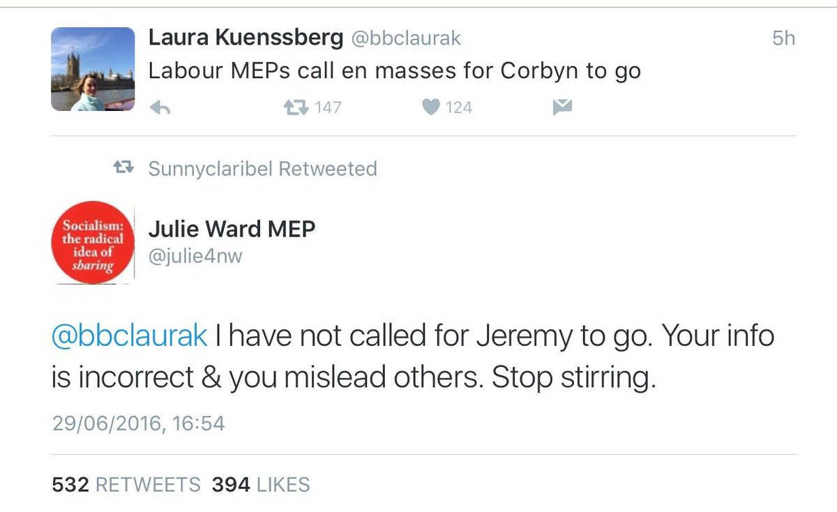 Key BBC journo caught spinning lies for #LabourCoup plotters. No apology. RT if you agree the @bbctrust should act https://t.co/IEKzhN5gsN