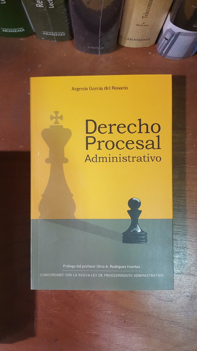 Image result for derecho procesal administrativo argenis garcia