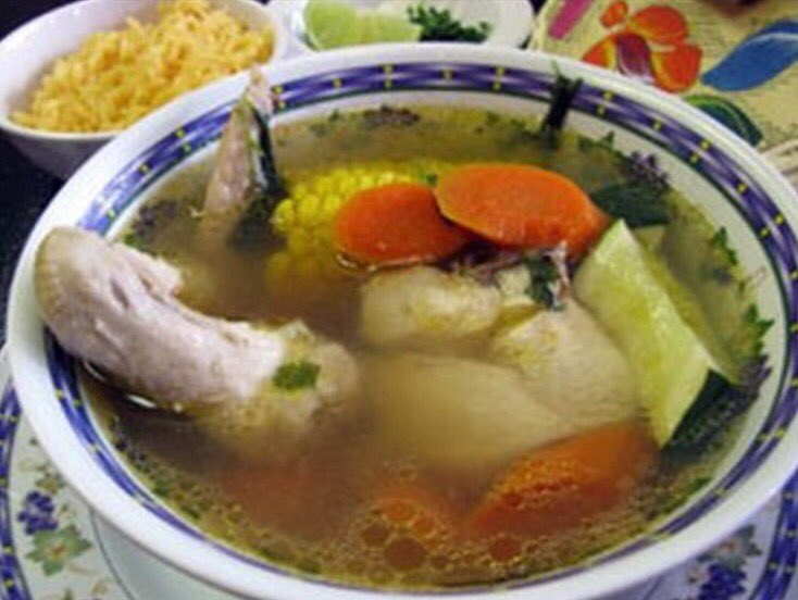 Having caldo when it's 95° outside...  #GrowingUpHispanic