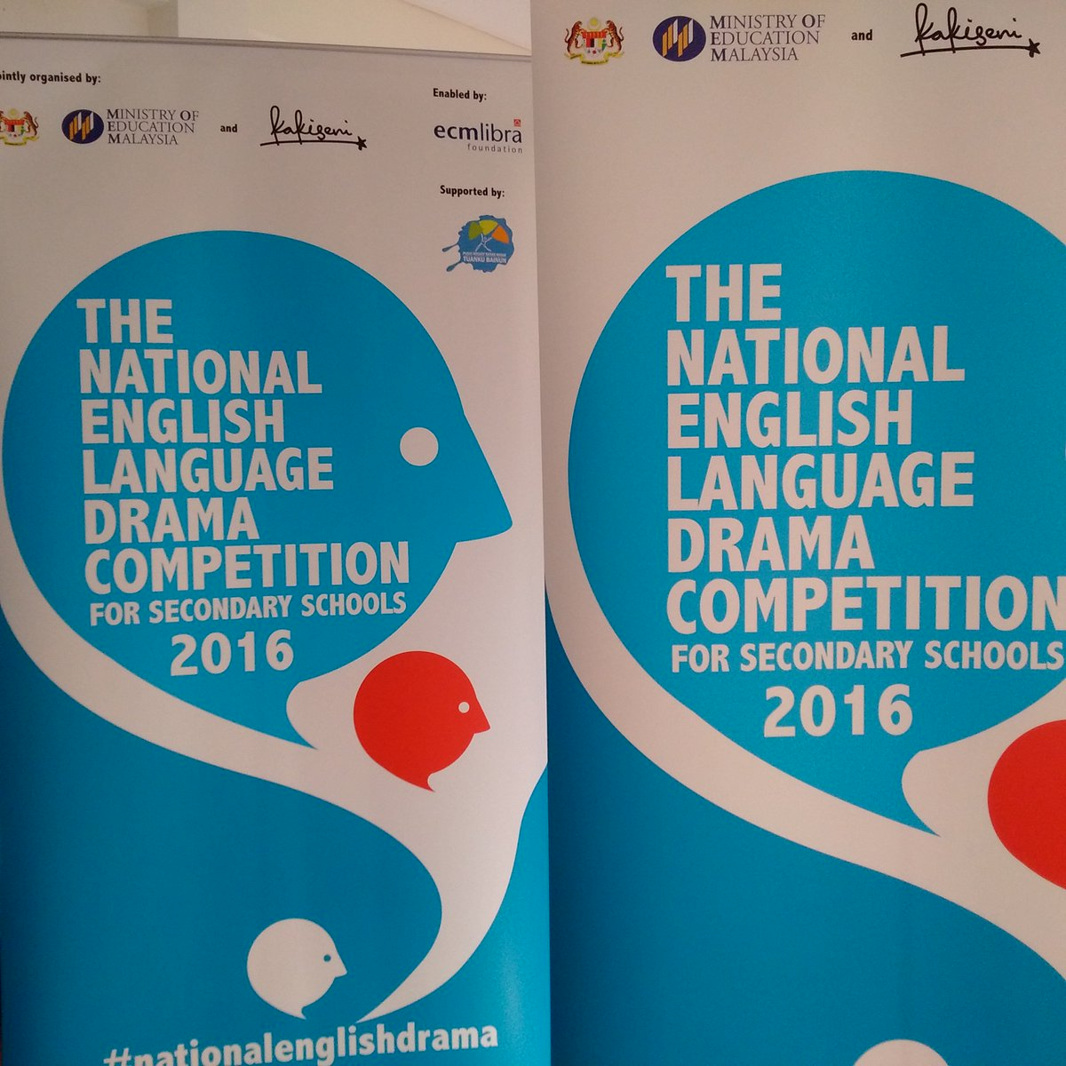 An exciting journey starts today: #NationalEnglishDrama Using theatre to remove barriers and to start conversing! https://t.co/WPwsv7JVnx