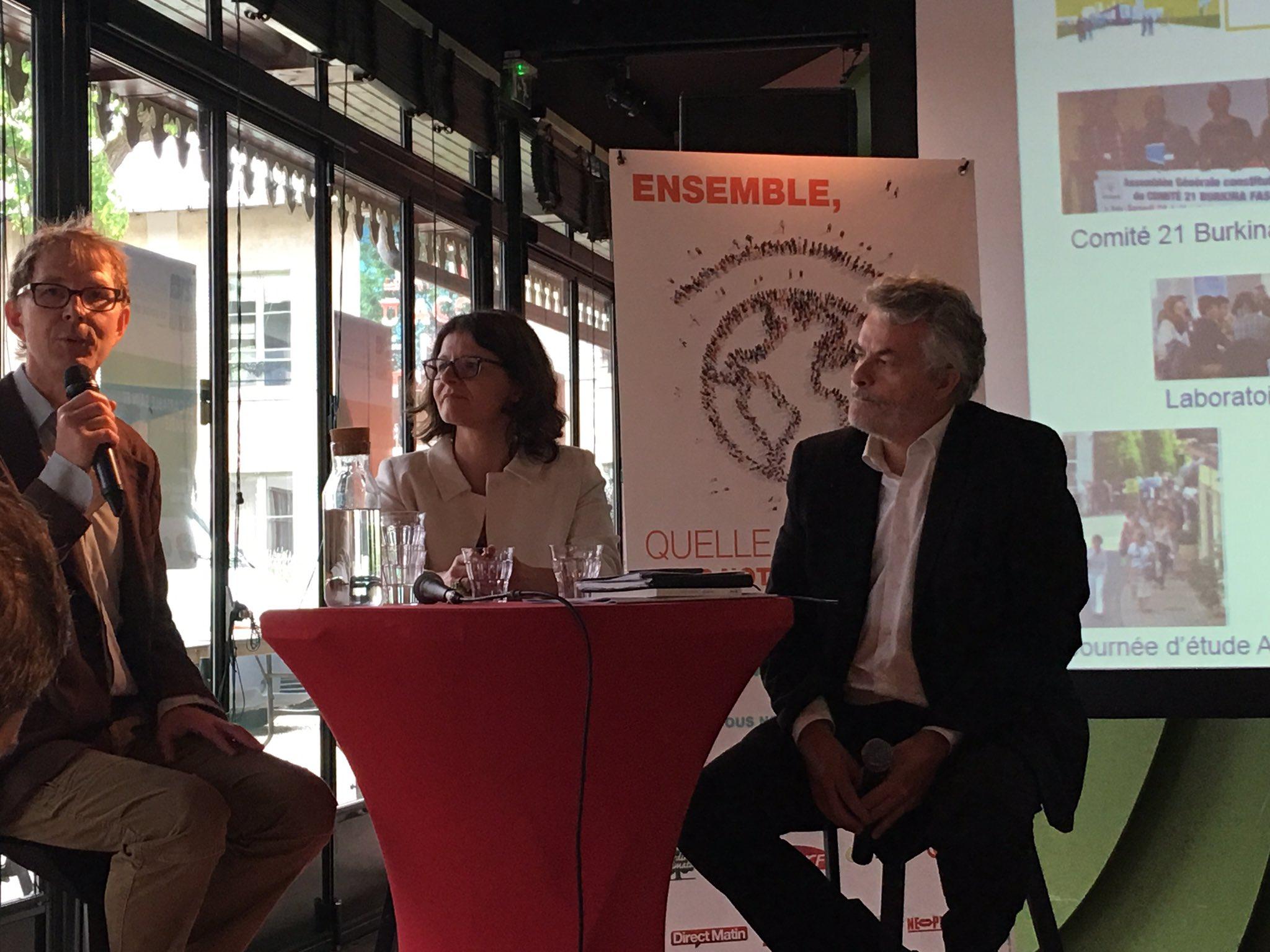 @Comite21 Témoignage d'adhérent : #F3E  la @COP21 a été une véritable réussite Importance de la RSE pour association https://t.co/lnuThimonR