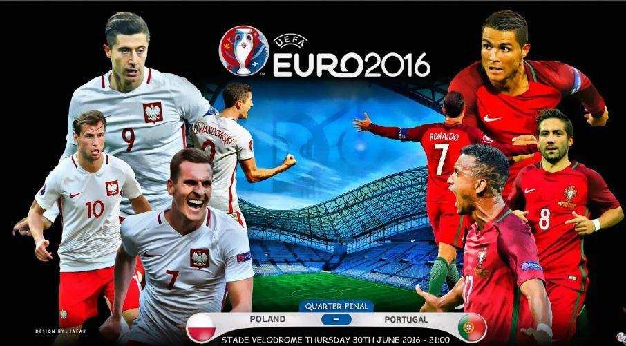DIRETTA POLONIA PORTOGALLO, vedere Streaming TV gratis Rojadirecta oggi 30 giugno quarti di finale EURO 2016