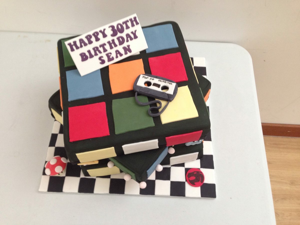 Stupendous Ace Cake Lady On Twitter 80S Themed Birthday Cake 80S Pacman Funny Birthday Cards Online Alyptdamsfinfo