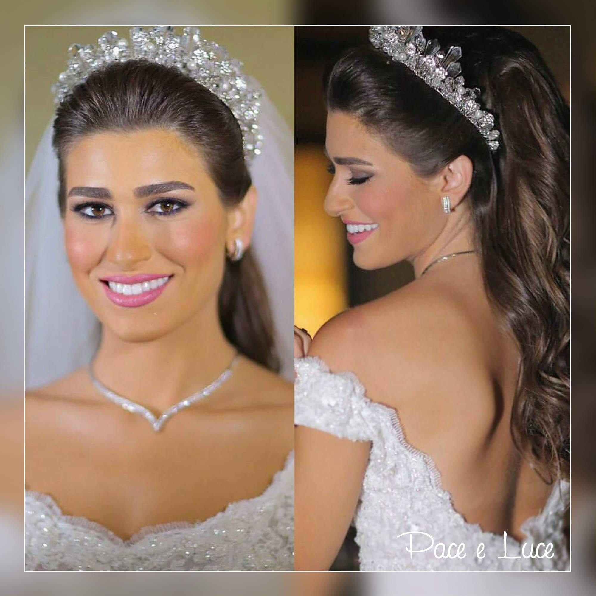 "Pace e Luce ficial on Twitter ""Beautiful bride Hair Hussein"