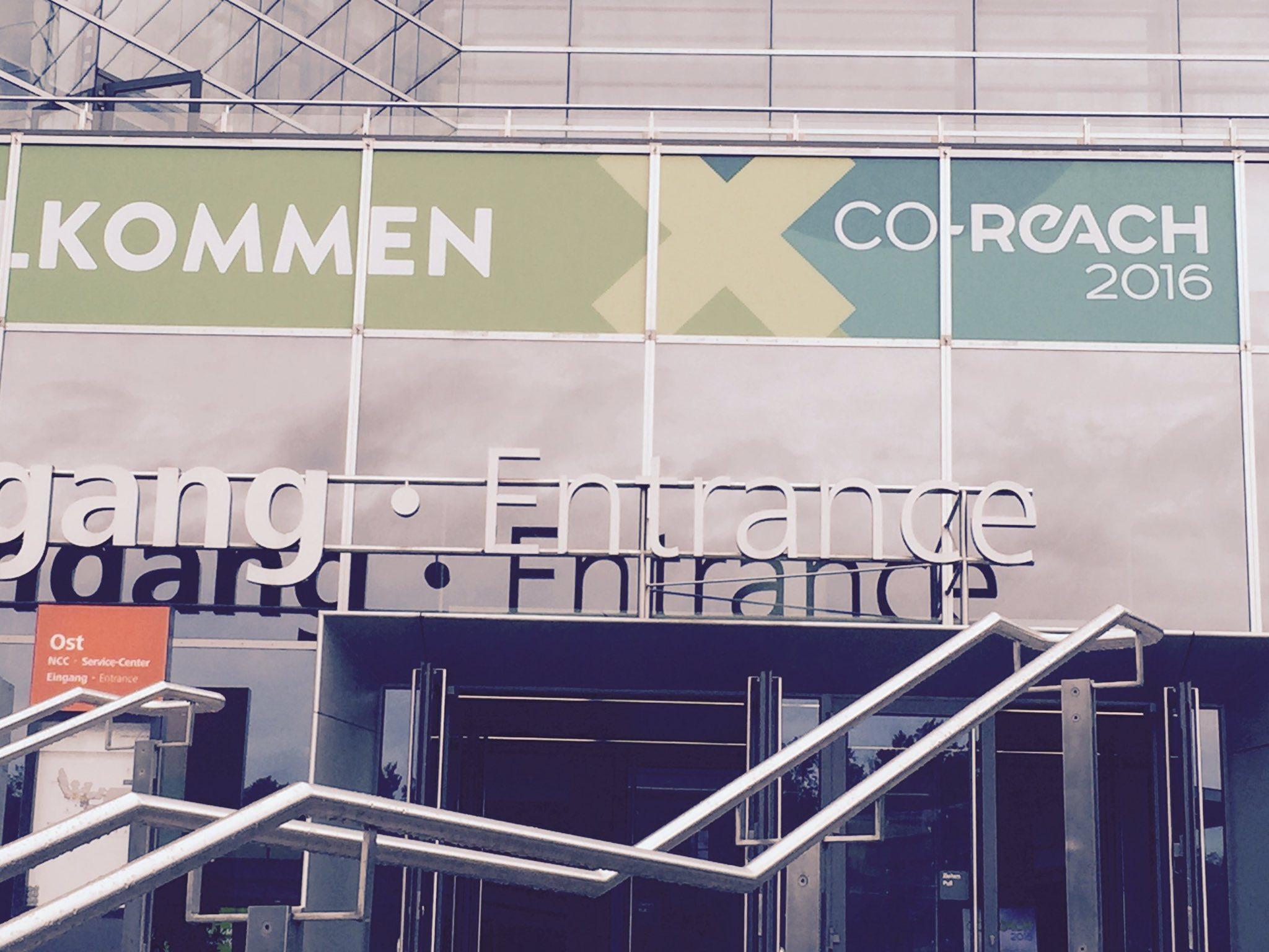 Mal sehen, was die #coreach bietet. @COREACHmesse https://t.co/FIAgvHfOK6