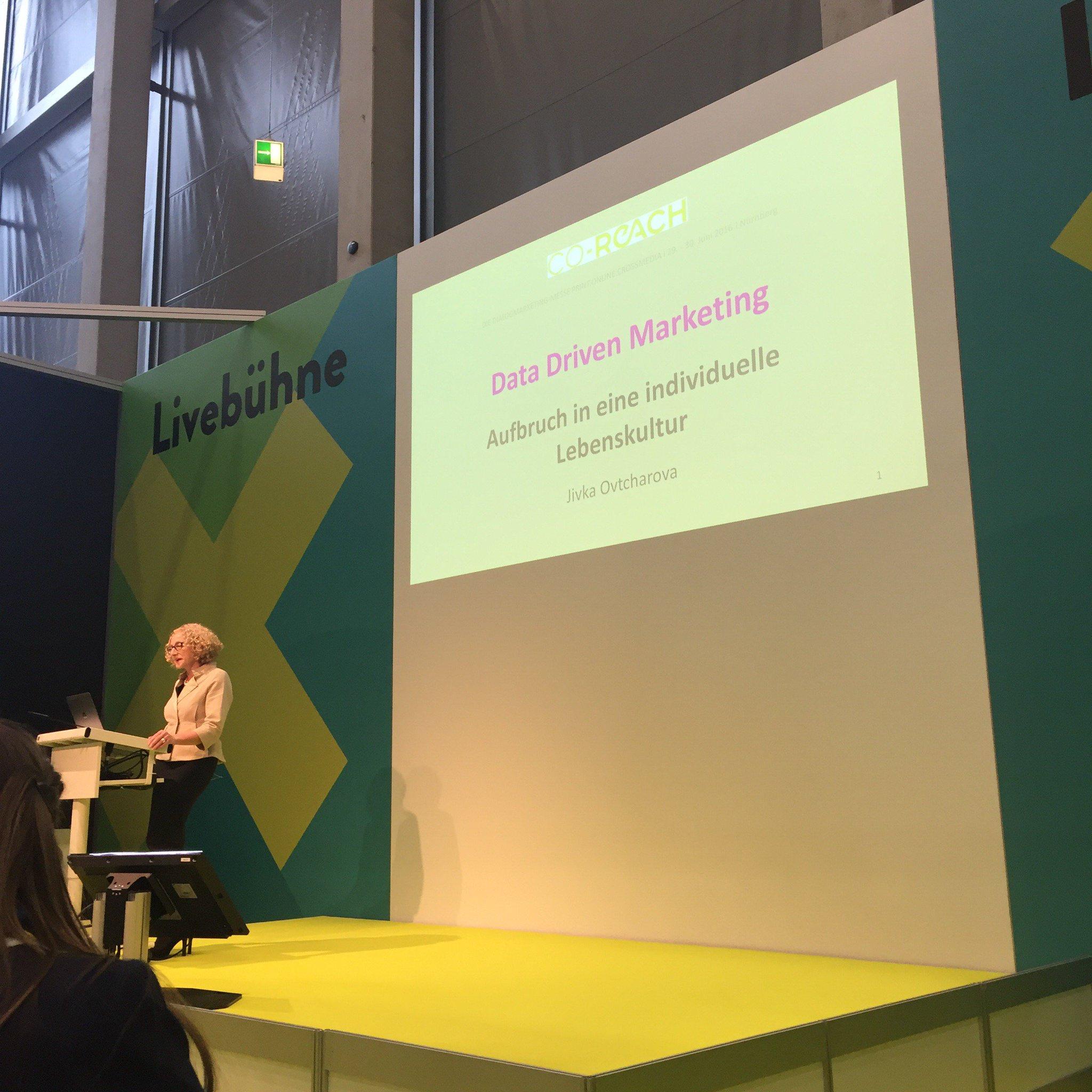 Aufbruch in eine individuelle Lebenskultur ....Data Driven Marketing #coreach #nuernberg #neugierig https://t.co/l3XHksbdMH