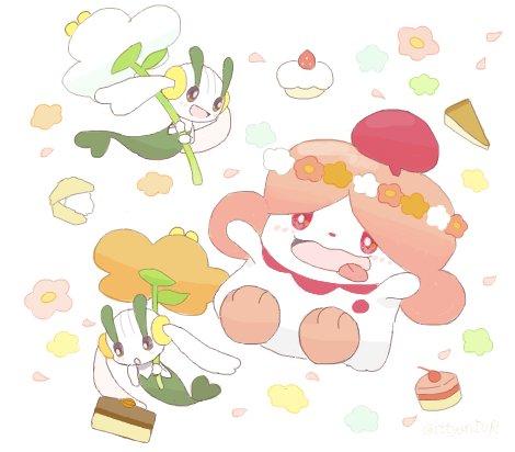 お菓子とお花のコラボレーション https://t.co/QTSLb5HlTX
