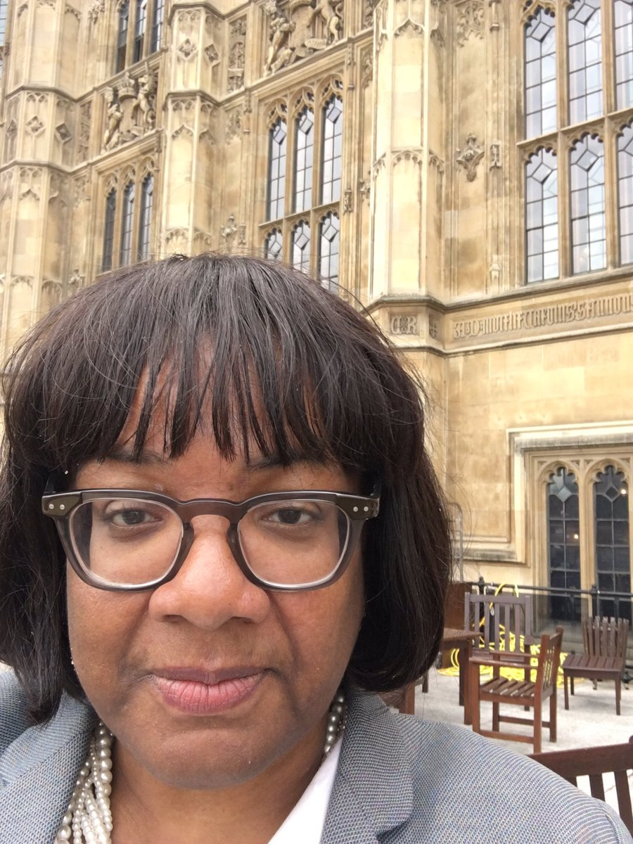 Here I am on the HOC terrace, yet the BBC is reporting that I am blocking JC office door! https://t.co/CzpbKzXNqo