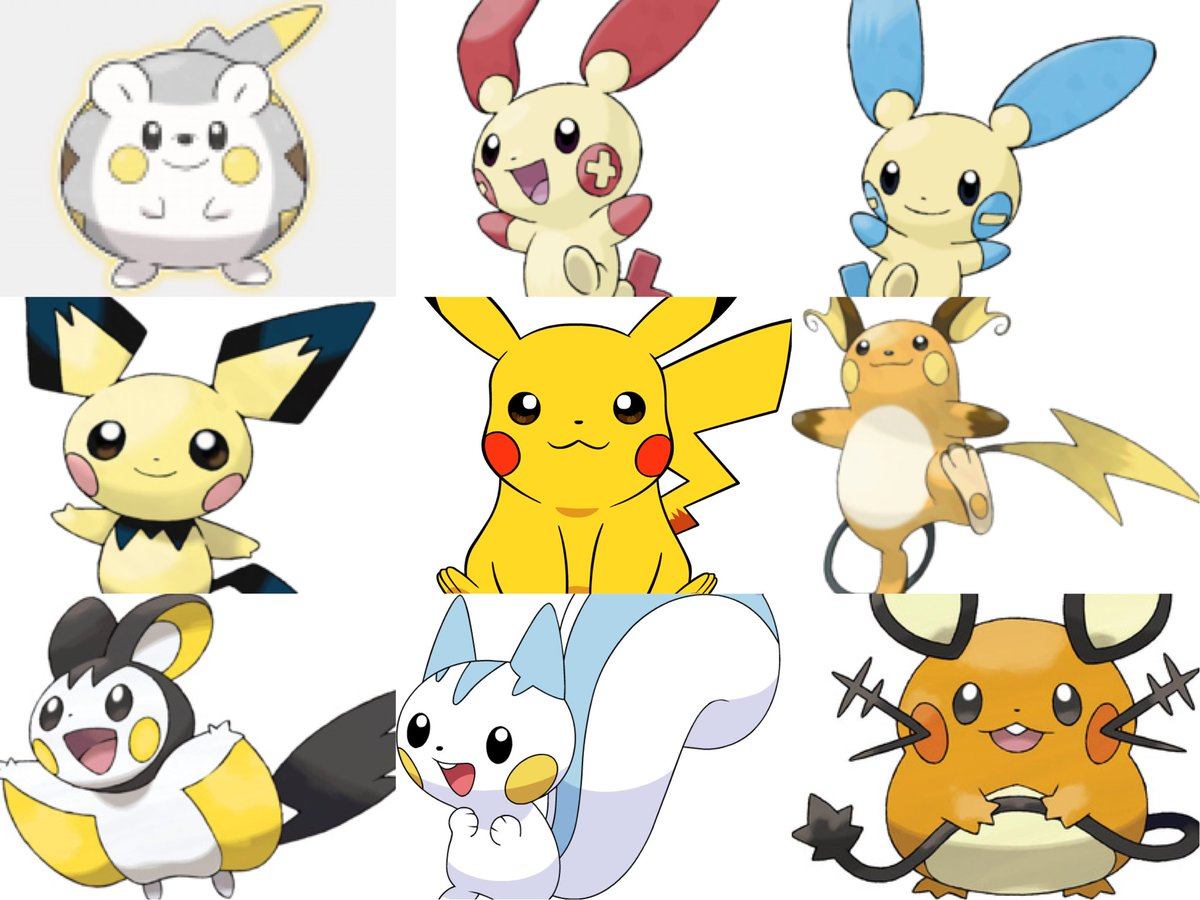 mimilegend on twitter the pika clones are real pokemon