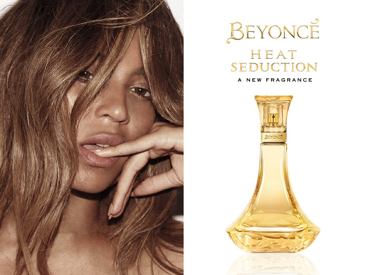 Introducing Beyoncé's newest fragrance: Beyoncé Heat Seduction! https://t.co/bPsYmSLU8m