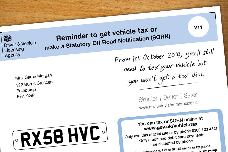 Dvla On Twitter Haven T Received Your Vehicle Tax Reminder Letter