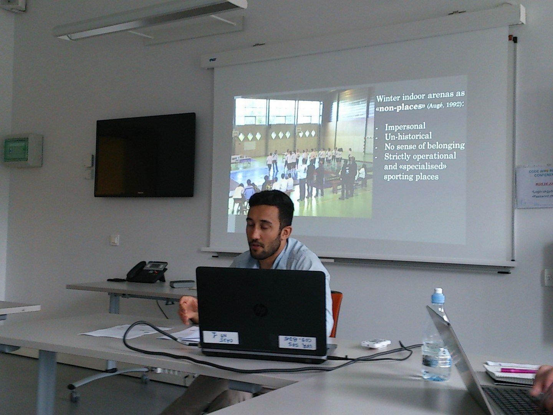 @DarioNardini presenting places of Breton wrestling #ISHPES2016 https://t.co/OlimmbXm93