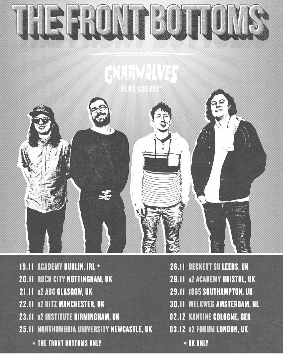 the front bottoms on twitter tickets for our uk european tour