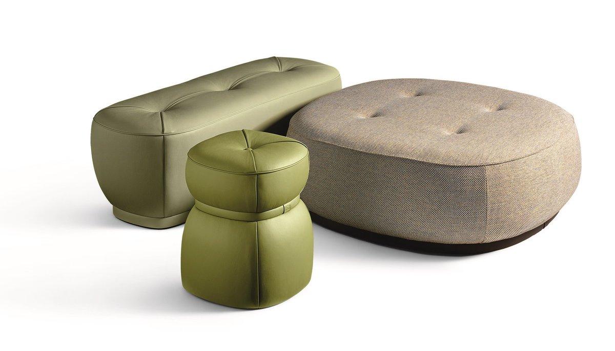 Panca e pouf in stile classico per casa