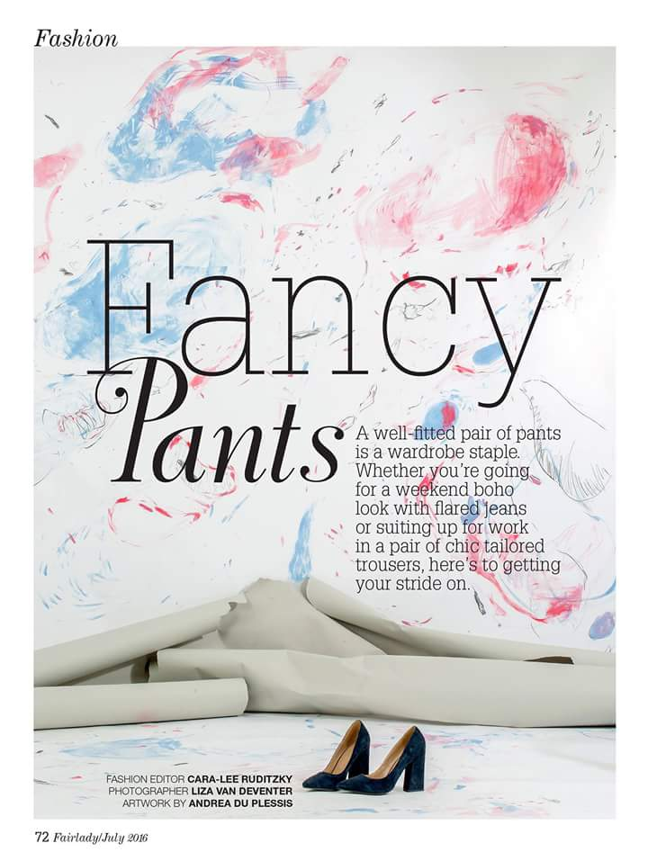 So happy with the result! My backdrops in the July issue of Fair Lady#backdrops #fairladymagazine #flamingoblack