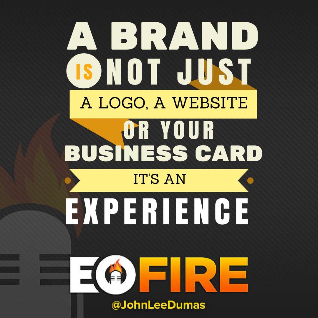 John lee dumas on twitter a brand is not just a logo a website or 500 am 30 jun 2016 colourmoves