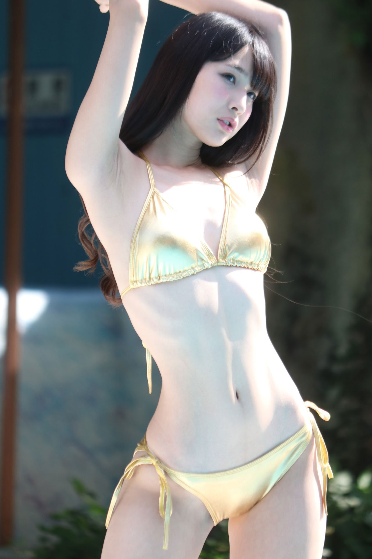 Gravure star akimoto tsubasa strips and does the crab - 3 part 10