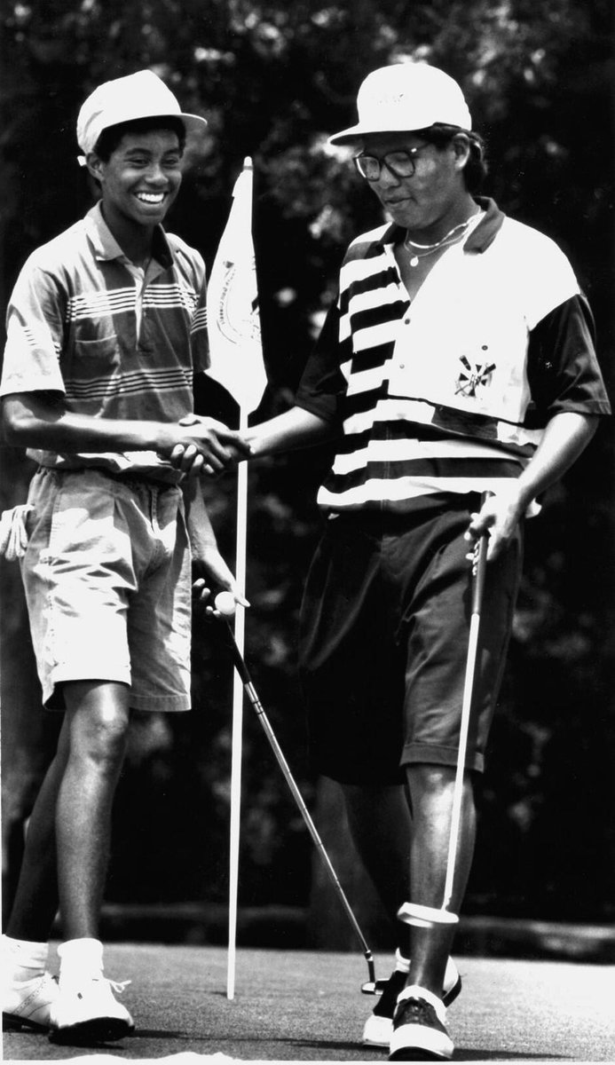 Much has chnged @TigerWoods since this pic. Except our friendship! RUNDMC glasses prove my 80s roots! #itstricky https://t.co/BPec7RLIS3