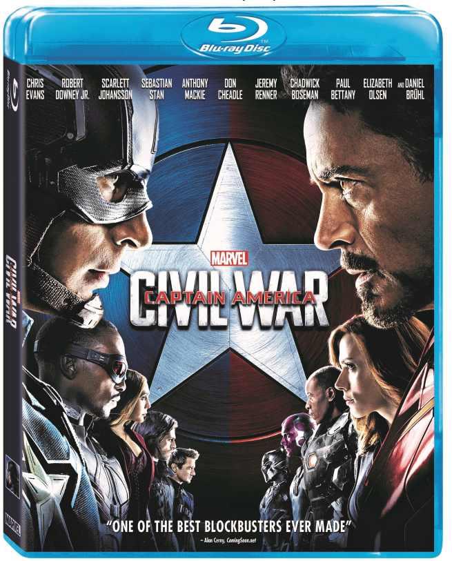 Captain America: Civil War Blu-Ray Bonus Features Revealed 3