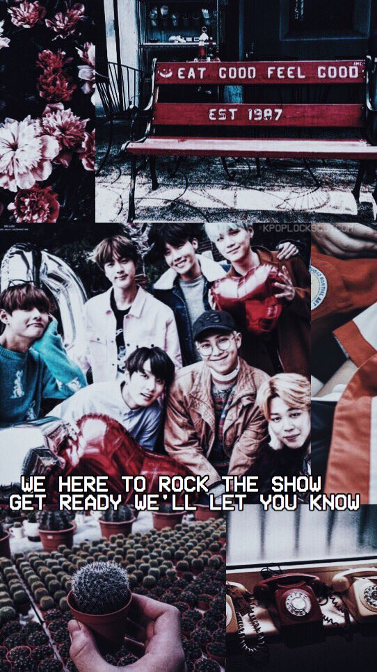 Kpoplocksdotcom On Twitter Bts Aesthetic Lockscreen Wallpaper