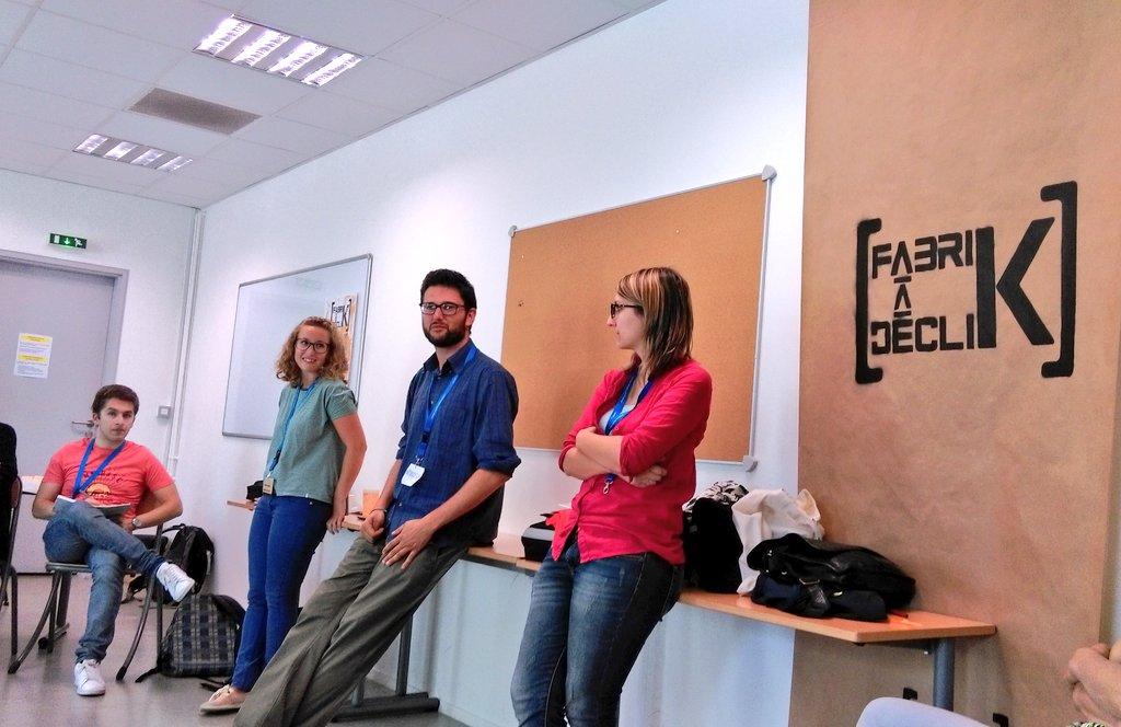 """Merci bcp @ForliSocialHub pour l'atelier """"Libérer les organisations"""", belle utilisation de l'""""idea canvas"""" #fdk2016 https://t.co/EdZQx1uh6x"""