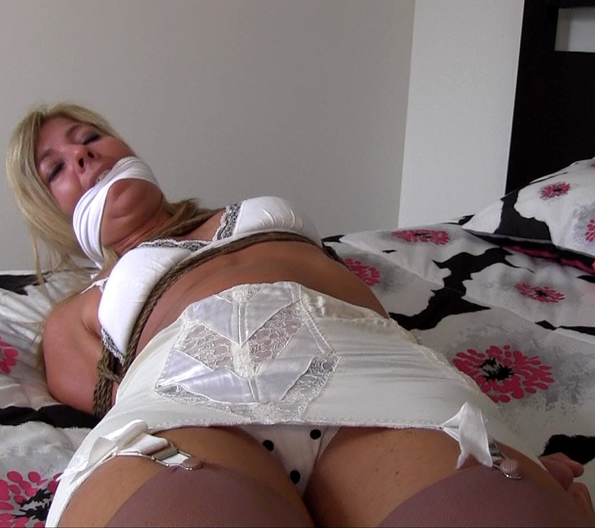 Hot blond slut