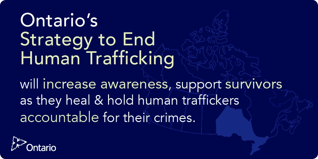 Ontario Taking Steps to End Human Trafficking