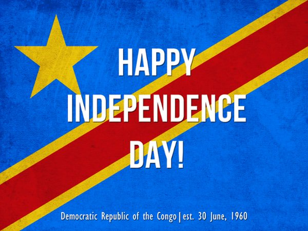 Invisible Children On Twitter Happy Independence Day DRC We - Congo independence day