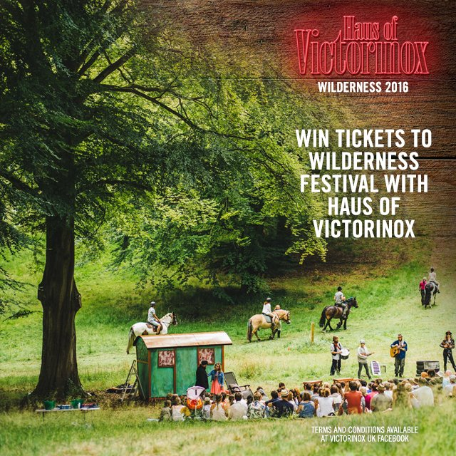 Want to join us at @WildernessHQ this summer with Haus of Victorinox? RT to WIN two tickets by 12th July https://t.co/NpuVW8n9Rb