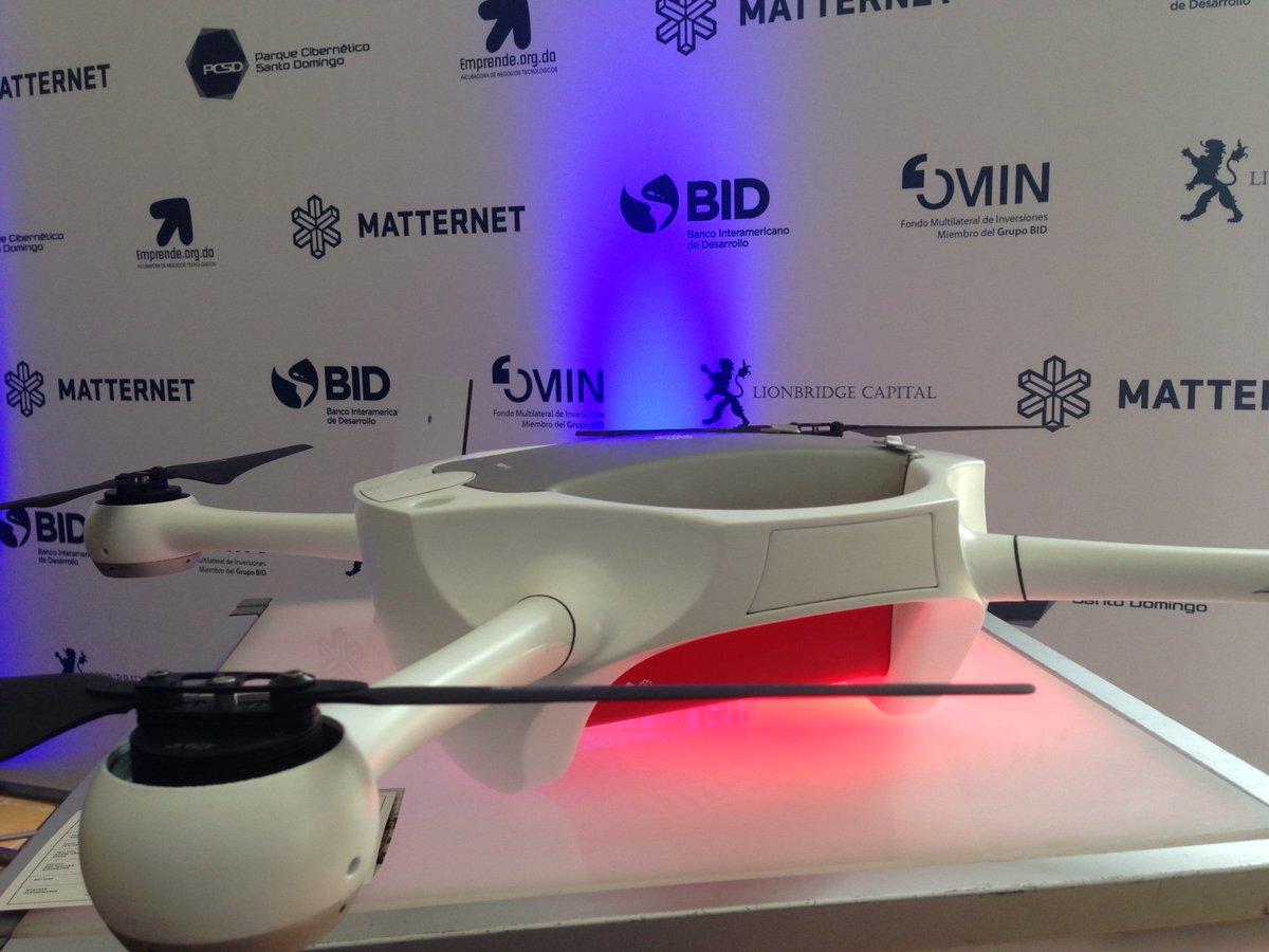 Estos drones transportarán medicinas en áreas rurales de la #RD, nuestro proyecto @matternet https://t.co/UmA7200XO2 https://t.co/2N6iaNsVAC