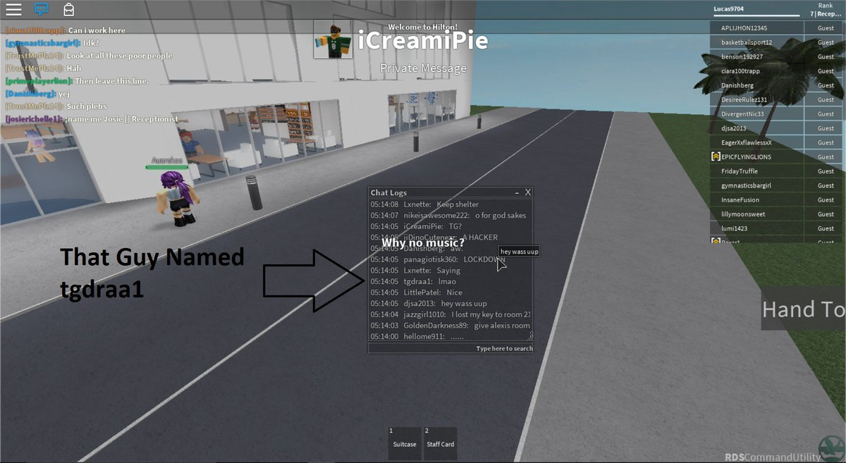 Roblox Hacker Report on Twitter: