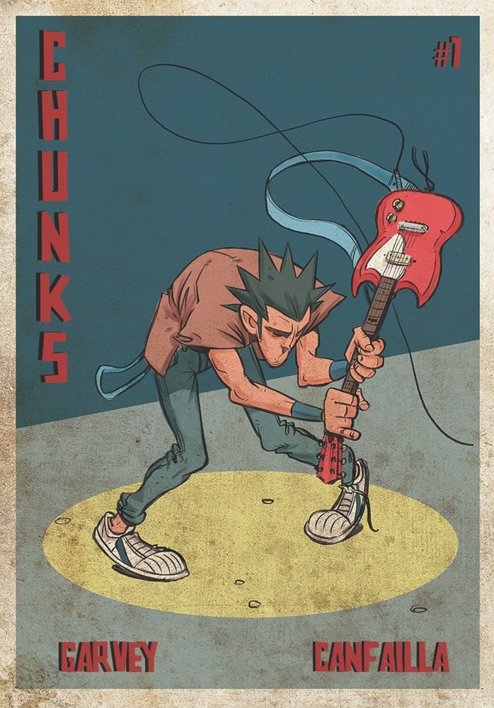 Who wants a free PDF of CHUNKS #1? Send me your email via https://t.co/QrE6YSOI9k & ill send it! Next 24hrs only!