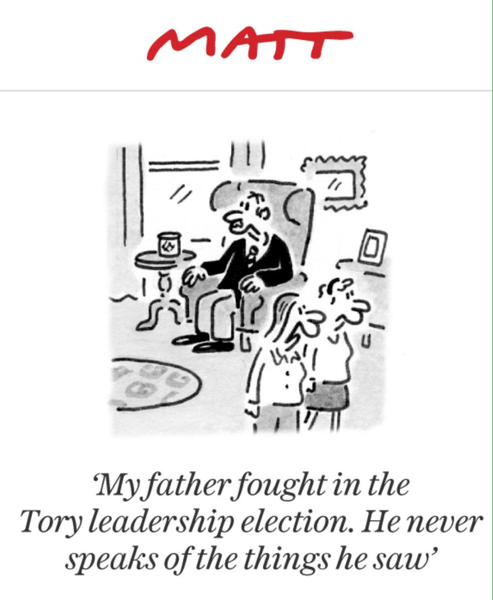 Matt cartoon in tomorrow's Telegraph.....brilliant! https://t.co/O5Fg5Bf1Uy