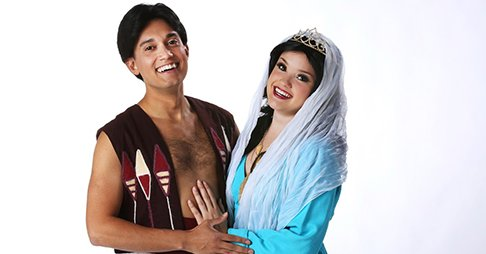 Welcome to Agrabah and the fantastic tale of the street rat who became a prince! https://t.co/aZiAiXAdO3 https://t.co/L37kjvAurn