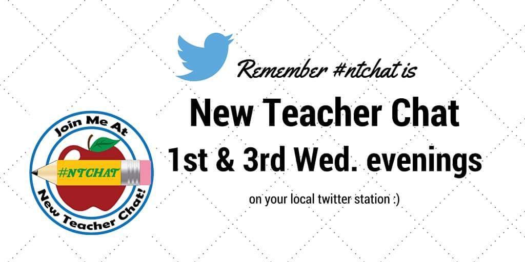 Were you a new /pre-service teacher at #ISTE2016? This chat is for you! 6 yrs running. Join me next Wed! #ntchat https://t.co/c8midQCHRC