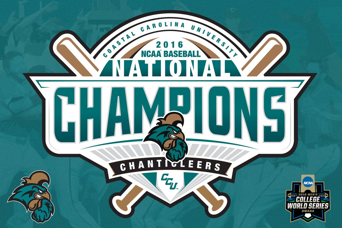 Coastal baseball on twitter worth the wait the coastal carolina coastal baseball on twitter worth the wait the coastal carolina university chanticleers are the 2016 ncaa baseball champions sciox Gallery