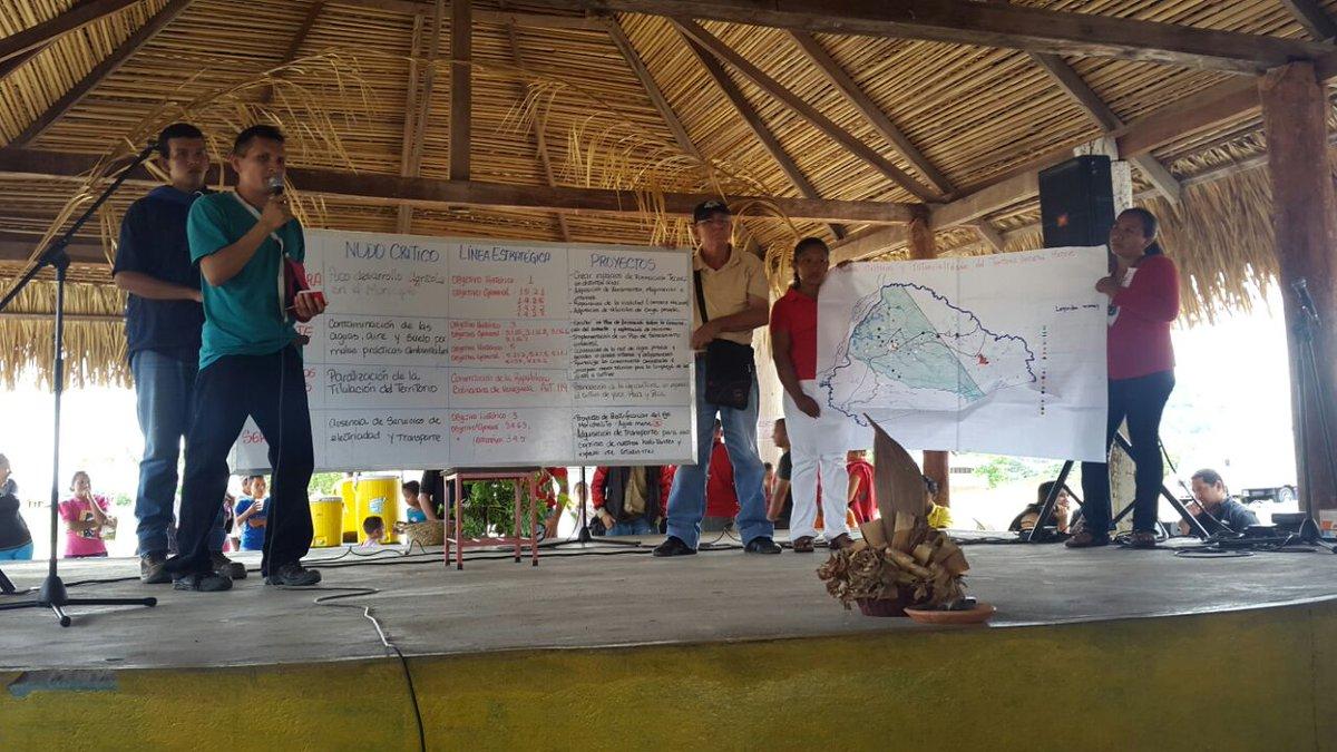 Pueblos Indígenas impulsan  desarrollo del Arco Minero